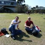 lomootje in het park